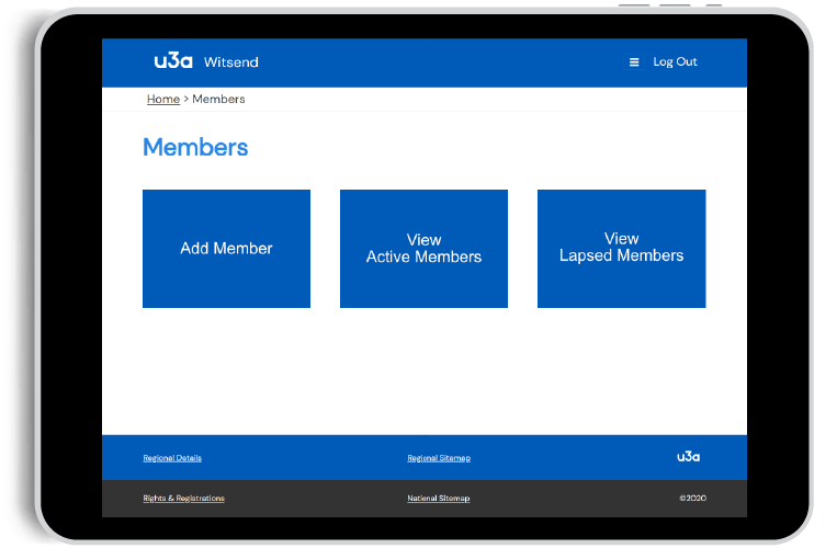 Member's Home Page